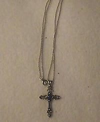 Gothic Style Silver Cross Dover, 19901