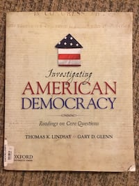 Investigating American Democracy by Lindsay & Glenn  Virginia Beach, 23464