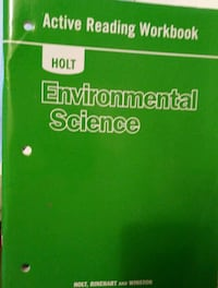 Books- environment science