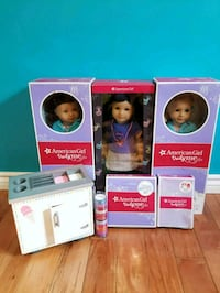 American Girl Dolls (Z Yang, 24, 64)  Mississauga, L5A 4A3