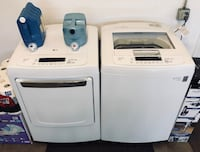 LG washer and dryer  Riverside