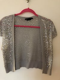 Women's Grey and Sequin BCBG sweater  LaSalle, N9H 2J7