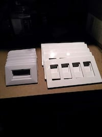 Screwless cover plates