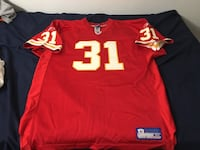 red and white NFL jersey Ventura, 93001