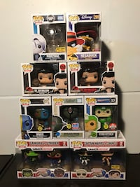 Funko Pop Figures (Including Dragonball and Naruto) Mississauga, L5L 3N3