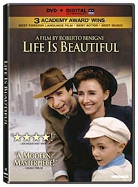 Life is Beautiful DVD Laval, H7P 0A7