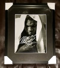 Mike Tyson Signed Boxing Photo Framed w/COA  Caledon, L7E 2X7