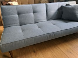 Light blue sofa bed sleeper like new / last one / discontinued