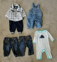 3 and 3-6 Months Boy Clothes