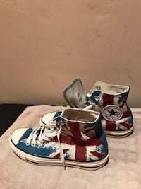 pair of blue Converse All Star high-top sneakers Orchard
