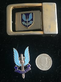 British SAS Belt Buckle Toronto, M4V 2C1