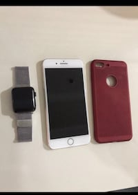 Gull iPhone 7 Plus 256 gb + Apple Watch'umdan series 2