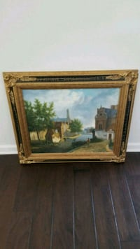 Large oil painting Raleigh