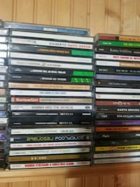 All cds 50 from jazz to country and hip hop  Montgomery, 60538