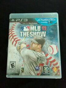 MLB 11 the show ps3 game
