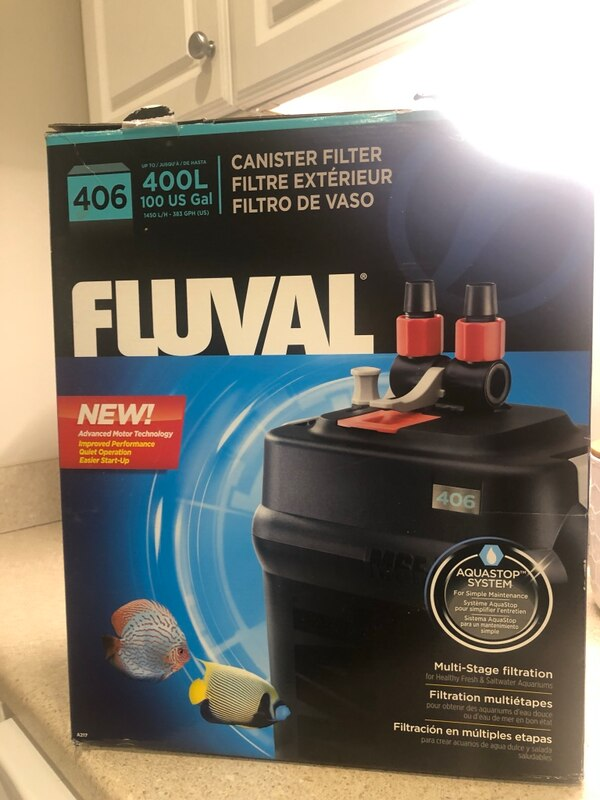 FLUVAL 406 canister filter  ca61ebef-81fc-4d9f-b8f0-cccd6491b6d1