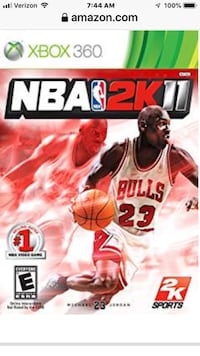 NBA 2K XBox360 games Ankeny, 50021
