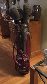 Woodbury Full Golf-set W/ Leather Bag SALE