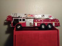 red and white fire rescue truck die-casts Spokane, 99212