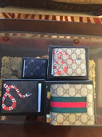 GUCCI WALLETS 1:1 REPS WITH BOX Surrey, V3W 1N7