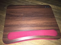 Wood laptop lap desk cushioned with LED Light Bel Air, 21014