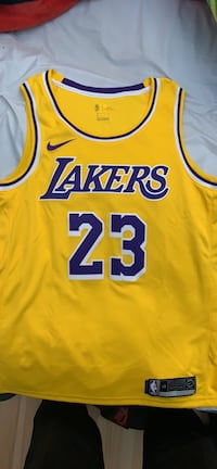 LeBron James authentic NBA jersey