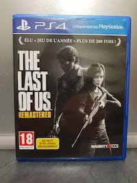 Jeux ps4 the Last of us remastered