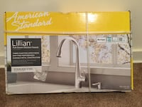 NEW American Standard Lillian Single-Handle Pull-Down Kitchen Faucet Stainless Steel Springfield, 22151