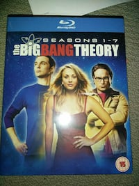 Blu-Ray Disc The Big Bang Theory Season 1- 7 Surrey, V3S 7M5