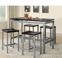 5 Piece Counter Height Table Set Arlington, 22206