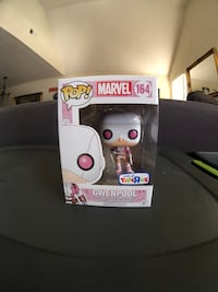 POP! MARVEL 164 Gwenpool vinyl figure box San Jose, 95131