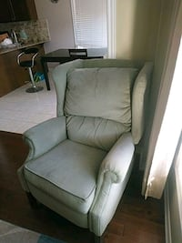 gray fabric padded sofa chair Brampton, L6X
