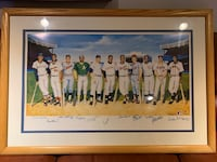 "Ron Lewis ""500 Home Run Club"" Signed Lithograph Washington, 20009"