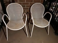 Outdoor chairs set of two Falls Church, 22043