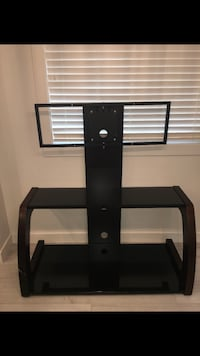 Black glass tv stand with mount Edmonton, T5G 0Z7