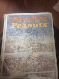 SANDLOT PEANUTS BOOK OF COMICS FROM 1977 some color some black and white Edmonton, T5W 4H8