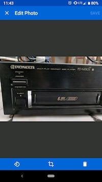 Pioneer multiplay compact disc player Modesto