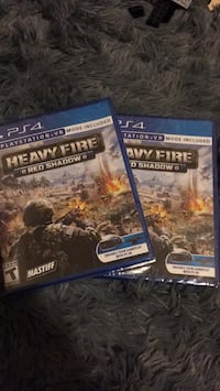 Heavy Fire: Red Shadow ps4(sold one) Nokesville, 20181