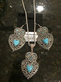 Set of necklace and earrings Lutherville Timonium, 21093