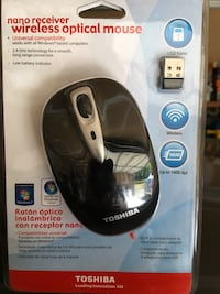 nano receiver wireless optical mouse - brand new in package ! Puyallup, 98373