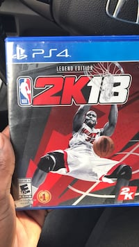 Sony PS4 NBA 2K18 case Augusta, 30907