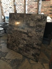 """54"""" Marble Dining room table and matching cofee"""