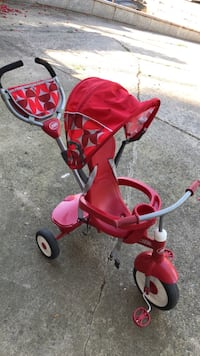 toddler's red and white push trike Springfield, 22152