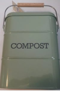 New metal kitchen compost bin Vaughan, L4L 9N3