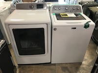 Maytag/Samsung New White Glass Top Loader Washer and Electric 220 Dryer Set - Both are New 2018 Models Open Box with Minor Scuff/Ding And Has Manufacture Warranty Haledon, 07508