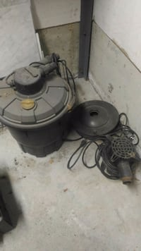 Pond pump and heater Vaughan, L4H 1B6