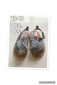pair of gray-and-brown sandals Ankeny, 50021