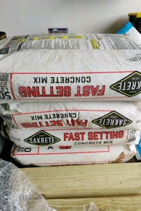4 50lb bags fast set cement 1 bag gravel Bristow, 20136