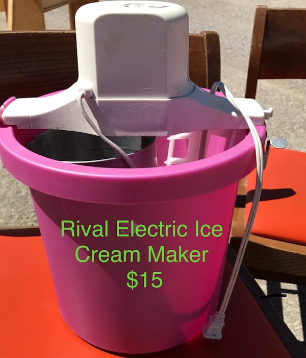 Used Rival Electric Ice Cream Maker For Sale In Ossian