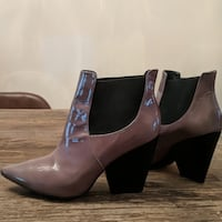 Pour La Victoire Ankle Boot 6 Varnished Leather Fairfax